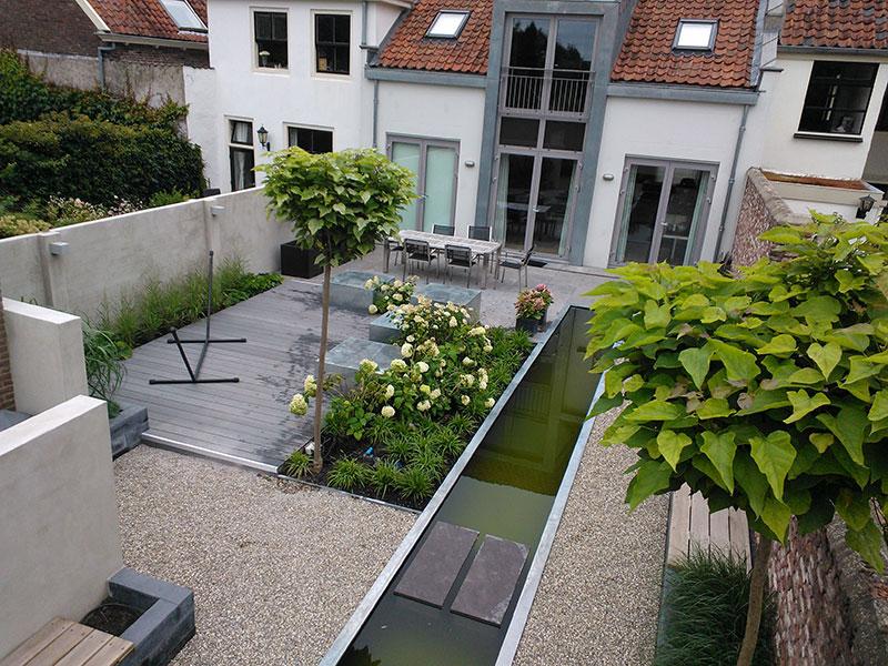 Modern tuinontwerp buren