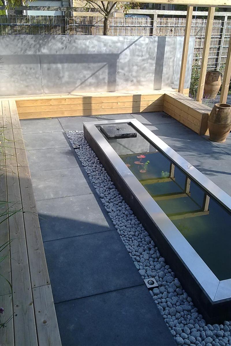 Moderne tuin ontwerp en aanleg in almere korsian for Tuinontwerp en aanleg