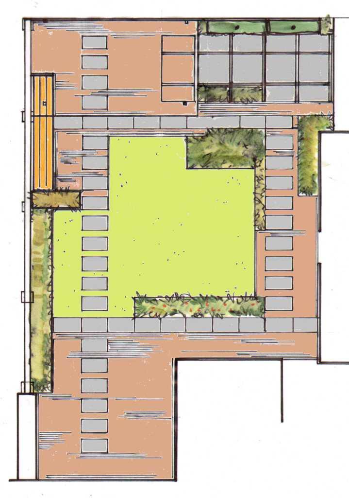 Achtertuin te ermelo korsian tuinontwerp en aanleg for Tuinontwerp en aanleg
